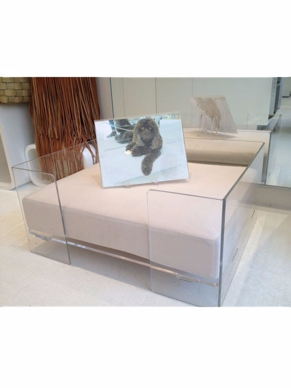 Round Acrylic Pet Beds For Dogs And Cats Buy Plastic Dog