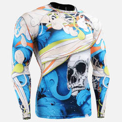 High Quality Sublimated mma/bjj Rash guard