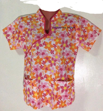 Printed/Plain Scrub Tops Scrub Suit