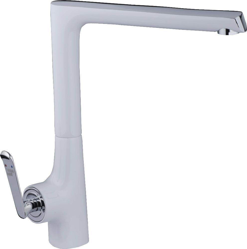 white kitchen sink faucet kohler k6920 white clairette kitchen sink faucet