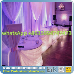 pipe &drape sales wedding decor Pipe and Drape Systems Pipe Stand Fabric Drapery