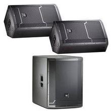 JBL Pro PAPACK80 JBL PRX712 and PRX718XLF Powered Speaker Bundle