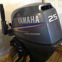 Used Yamaha 200HP 4-Stroke Outboard Motor