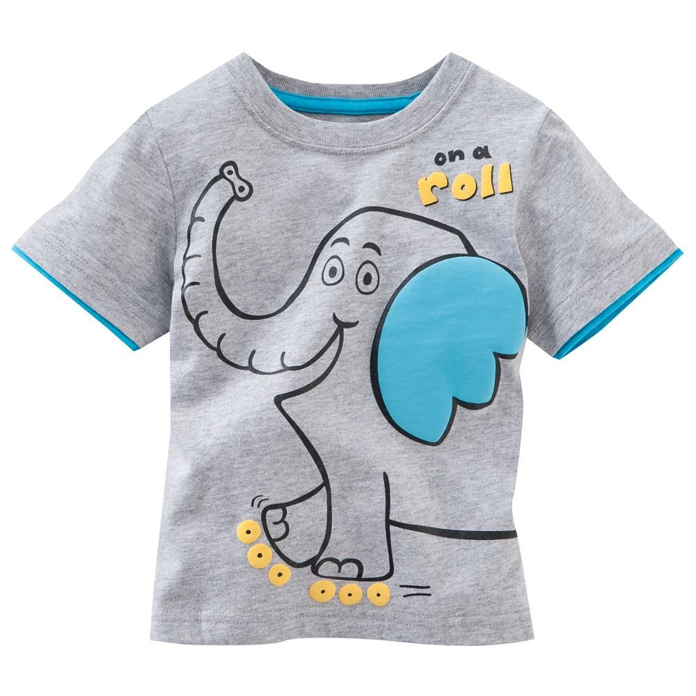 2015 childrens clothes boys o neck kids wear new model