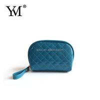 unique Technology Polyester Silk hard case cosmetic bag