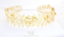 Grecian laurel wreath headband. Greek leaves wreath crown. Olive leaves wreath