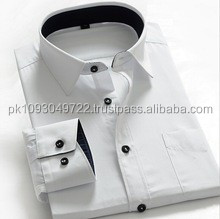 2015 newest designs wholesale pure white slim dress shirts men pakistan