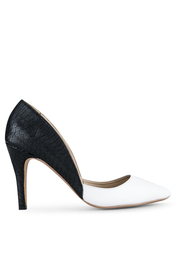 black and white pumps bridal shoes wedding shoes