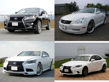 Low cost and Reliable used toyota lexus for irrefrangible accept orders from one car