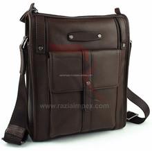 Linked Fashion factory supply Laptop Leather Bag Business Handbag Shoulder Travel Messenger Bag