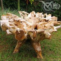 Teak Root Furniture Indonesia - Teak Root Round Dining Table