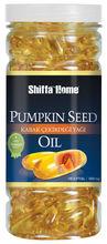 Óleo de semente de abóbora para próstata cápsula mole 1000 mg x 100 suplemento alimentar de saúde