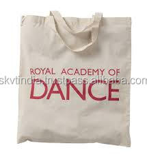 thicker cotton cavnas promotion bags 2 side printed canvas bag