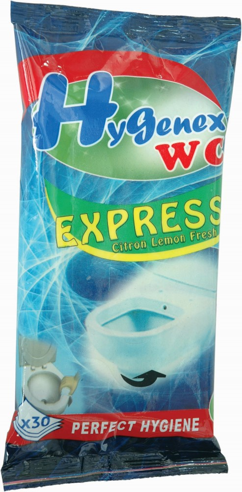 Hygenex Toilet Wc Cleaning Wet Wipes Buy Flushable