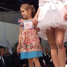 Beautiful flower girl hand smocked dress - DR 2071