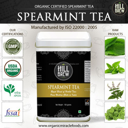 High Quality Spearmint Leaves tea at your door step
