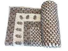 Vintage cotton sari Blanket Authentic indian old vintage kantha Quilt, Reversible 100% cotton Quilts/Throw/Blanket/Gudari