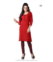 Ladies Wear Fancy New Cotton Kurtis
