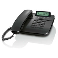 Corded phone with LED message indicator and 50 adress book entries GIGASET DA610