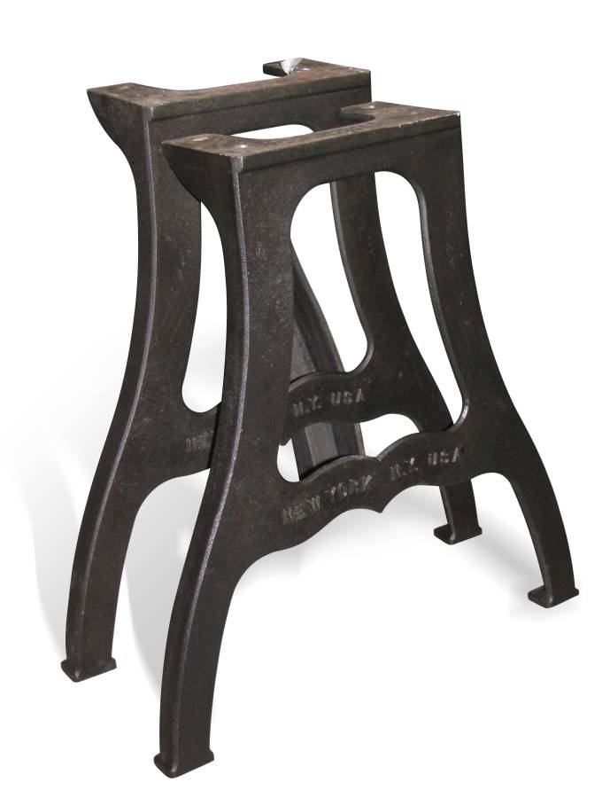 New York Ny Industrial Machine Cast Iron Table Legs Buy
