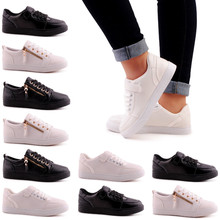 Women Sneaker Low Zipper Shoes with your own Brand Made in Turky