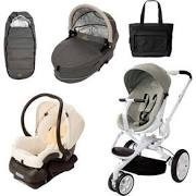 Buy 2 get 1 free Quinny CV078BFV Moodd Stroller Complete Collection