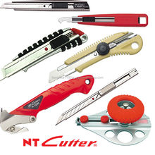 NT high spec utility knives with large lineup from Japanese stationery manufacturer