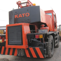 Used rough crane Kato KR25H for sale, Japan Kato KR25H ,25ton rough crane
