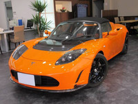 USED TESLA ROADSTER SPORTS ELECTRIC CAR (RHD 820249 ELECTRIC )