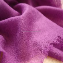 Pure cashmere solid color scarf 100% Cashmere Scarves Shawls
