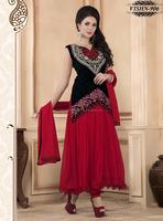 High Neck Designs For Ladies Suit   Hand Work Salwar Suit
