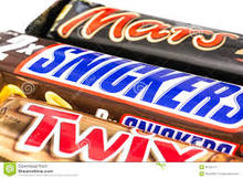 SNICKERS/TWIX/MARS/BOUNTY/KIT KAT CHOCOLATE We can offer Mars
