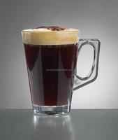 Plastic Polycarbonate Tea Coffee Glass 250mL Glass
