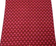 "43"" Cotton Poplin Fabric Floral Craft Quilt Maroon Dress Drape India FBC2919"