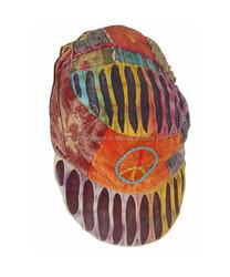 Hippie caps trendy designer hats & caps,unisex fabric caps