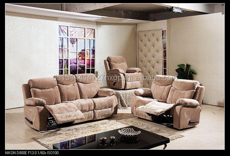 living room furniture recliner set modern appearance