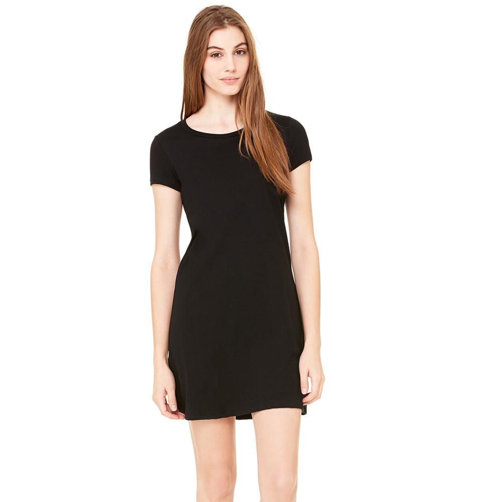 Beautiful  Women Lace Short Sleeve Casual Long Blouse T Shirt Mini Party Dress