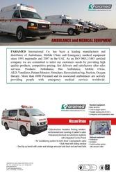 Nissan Urvan Van Ambulance