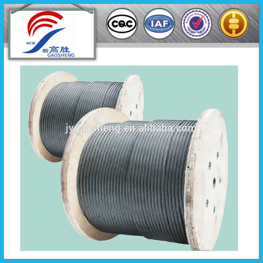 Galvanized Rope 3mm High Tension Steel Wire - Buy Galvanized Rope ...