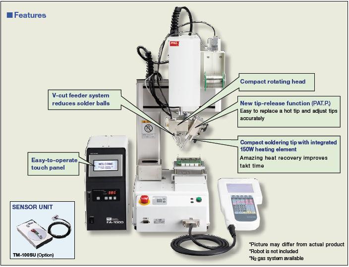 Desktp Soldering System Fa 1000 Economical 4 Axis Buy Fa