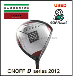 Hot-selling and Cost-effective honma golf bag and Used Driver DAIWA(GLOBERIDE) ONOFF(2012) Type-D with good condition