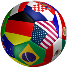 world cup street promotional real leather factory advertising wholesale custom printmatch soccer ball