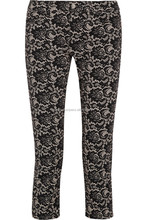 International brand jeans/denim women straight cut boot leg skinny and slim fit design jeans women