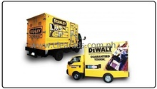 Digital Printing-Transit Graphic Ads and Delivery Van Stickers in Metro Manila, Philippines
