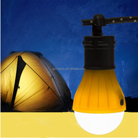 Excellent Quality Outdoor Portable Hanging LED Camping Tent Light Bulb Fishing Lantern Lamp Torch 2 Colors