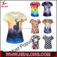 Healong 3D Sublimation Girls Cheerleader Uniforms Plus Size