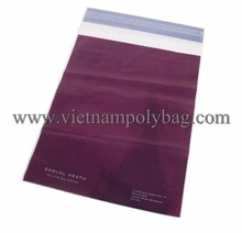 Vietnam printed white postal express plastic packaging bag