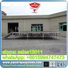 heavy mobile stage platform flow stage van