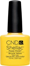 Original CND Shellac Power Polish 2015 Asphalt -Azure Wish -Bare Chemise -Beau - Bicycle Yellow -Black Pool -all colors availab