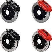 6 Piston Forged Dynalite Front Big Brake Kit